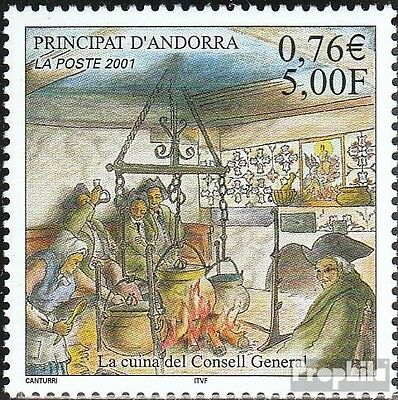 Andorra-French Post 572 mint never hinged mnh 2001 Kitchen