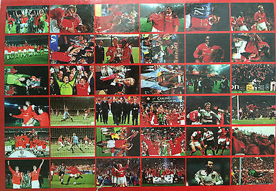 "Football Glossy Photo Manchester United 6"" x 4"" Champions 36 to choose from"