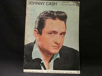 Johnny Cash Song & Picture Folio #2 Sheet Music & Pictures 1960