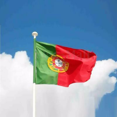 2' X 3'  New Portugal Portuguese Flag Polyester National Banner w/ Grommets
