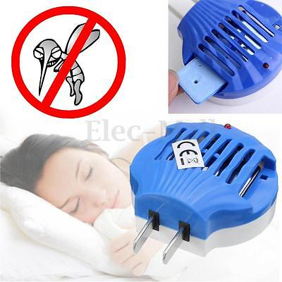 LED Electric Lamp Fly Catcher Insect Mosquito Killer Coil Outdoor Indoor US Plug