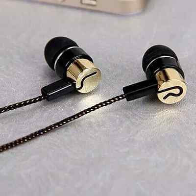 High Quality 3.5mm In-Ear Earphone Stereo Headphones Super Bass Metal Earbuds