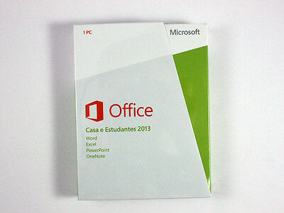 Microsoft Office 2013 Home and Student Vollversion - Produkt mit Box/ Verpackung