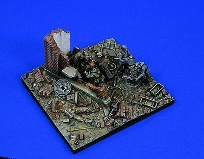 VERLINDEN PRODUCTIONS #1494 German Last Stand Diorama Base in 1:35
