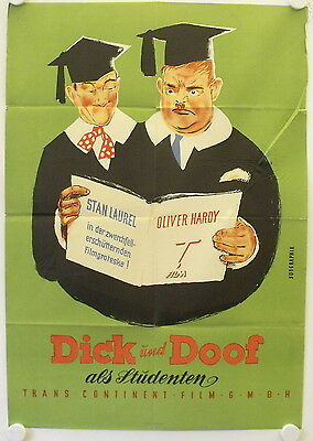 A Chump at Oxford original release german movie poster