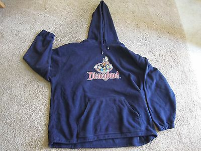 Disneyland Resort Blue Sweatshirt With Mickey Mouse and the Gang Size XXXL