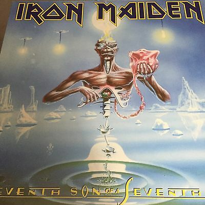 Iron Maiden 'Seventh Son Of A Seventh Son' 180g Vinyl LP -  NEW/SEALED