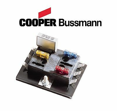 Bussman ATC 8 Position Fuse Block Holder Chopper Custom Triumph