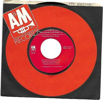 LENNOX, Annie; & Al Green  (Put A Little Love In Your Heart)  A&M 1255