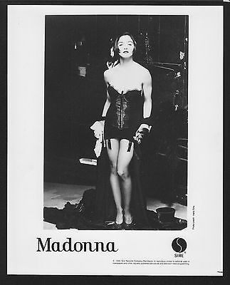 VINTAGE ORIGINAL Ltd Edition Promo Photo 8x10 Madonna 1990