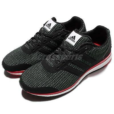 adidas Lightster Bounce M Black Red Mens Running Shoes Sneakers Trainers BA8497