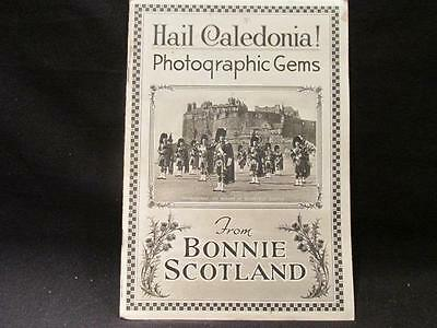 Hail Caledonia! Photographic Gems from Bonnie Scotland Vintage Guidebook