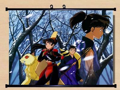 "Japanese Anime InuYasha Roles Home Decor poster Wall Scroll 23.6x17.7"" GO1222"