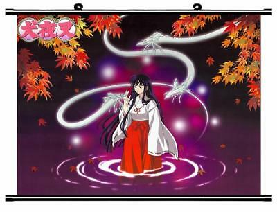 "Japanese Anime InuYasha Roles Home Decor poster Wall Scroll 23.6x17.7"" GO1225"
