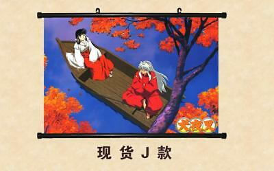 "Japanese Anime InuYasha Roles Home Decor poster Wall Scroll 23.6x17.7"" GO1227"