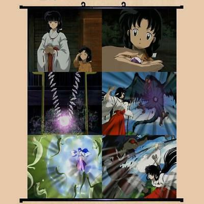 "Japanese Anime InuYasha Roles Home Decor poster Wall Scroll 24""x32"" GO1239"