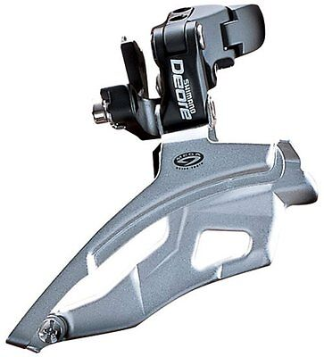 New Shimano Deore Front Derailleur 31.8 34.9 Clamp Dual Pull 44t Crank 3x9 Spd