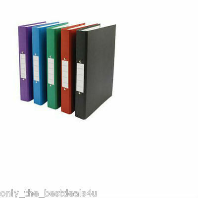 A4- Ring Binder Multi Purpose File/Folders Any Colour/Qty Office/Home/Schol use