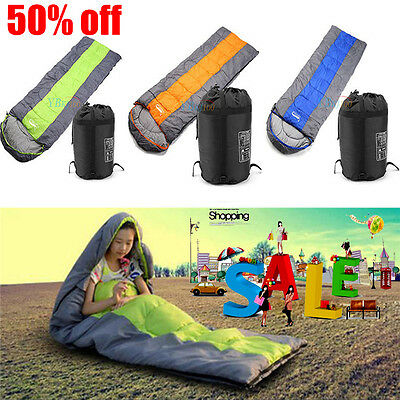 4-5 Season Autumn Winter Hiking Adult Mummy Sleeping Bag Outdoor Travel Camping