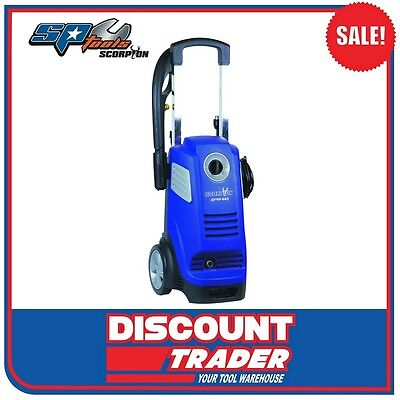 Scorpion by SP Tools High Pressure Washer / Cleaner 1800W 2050PSI - SPW445