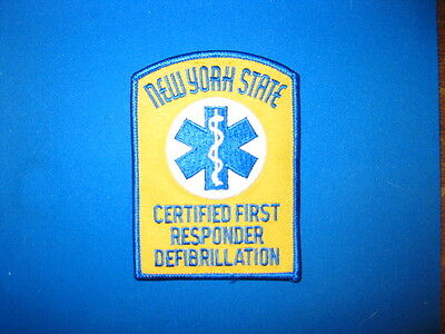 New Yor State First Responder Patch