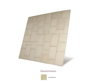 Baroque Paving 7.28m² Patio Pack Garden Feature Kit