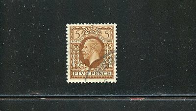 Lot 51935 Used 217 King George V  Great Britain Gb