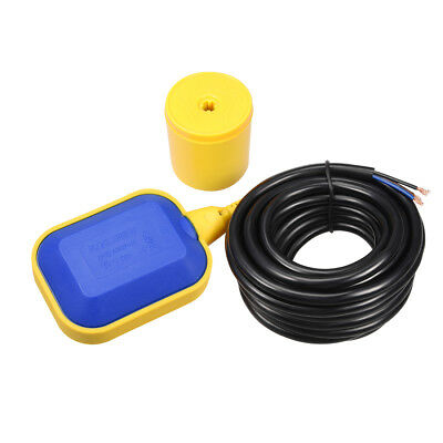 4M 13Ft Long Cable Water Liquid Level Float Switch Sensor Sump Fluid Controller