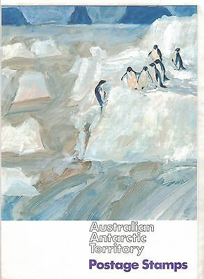 1966 Australia Antarctic Official PO pack SG 8/18