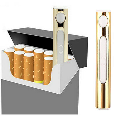 USB Rechargeable Cigarette Lighter Mini Portble USB Port Electronic Windproof