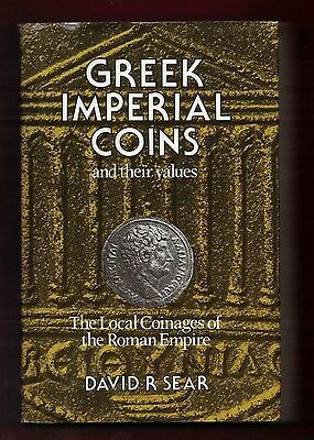 Greek Imperial Coins and their values - David R Sear, Catalogue Reprinted 1991