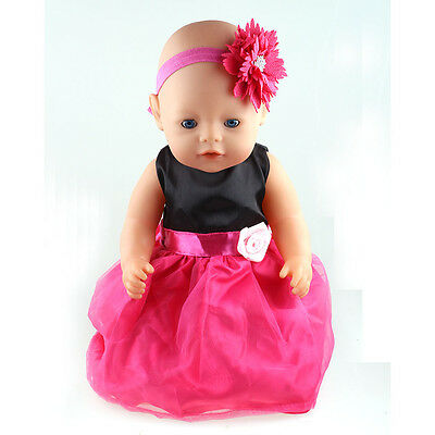 1set Doll Clothes wear for 43cm Baby Born zapf (only sell clothes ) B96