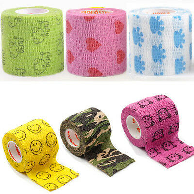 4.5*5cm Kinesiology Waterproof Bandage Wraps Elastic Adhesive First Aid Tape UK