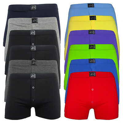 6 / 12 / 24 Pack Mens Location Boxer Shorts Trunks Gift Underwear Cotton Boxers