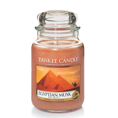 Yankee Candle Egyptian Musk Grosses Glas 623 g