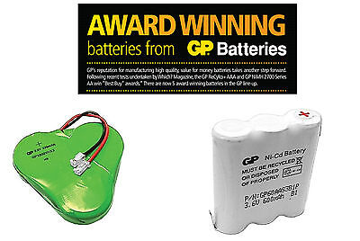 GP Cordless Phone Battery Packs 3.6V / 320mAh - 600mAh / AA & Cased
