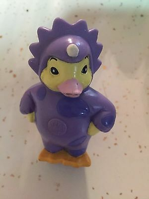 "2008 Ming Duckling Duck Dino Costume 2.75"" PVC Plastic Action Figure Wonder Pets"