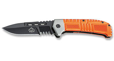 Puma Tec One-Hand Folding Knife / Belt Clip / Liner Lock / 7380912 *new In Box*