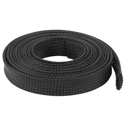 16mm PET Cable Wire Wrap Expandable Braided Sleeving 3 Meter