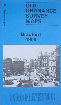 Old Ordnance Survey  Detailed Maps Bradford  Yorkshire 1906  Godfrey Edition