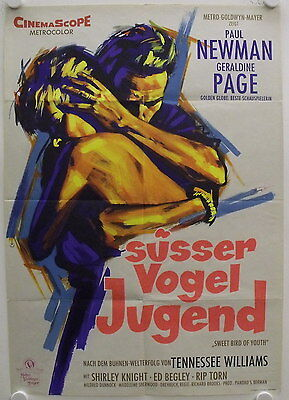Sweet Bird of Youth original release german movie poster