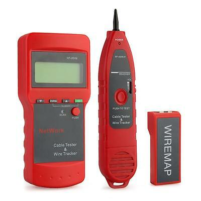 Phone Network Cable Circuit Wire Line Finder/Tester Tone Generator 9V