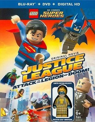 LEGO DC Comics: Justice League - Attack of the Legion of Doom (Blu-ray only)