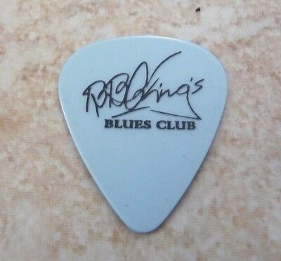 BB King King Of The Blues Club Music Light Blue Signature Guitar Pick Lucille
