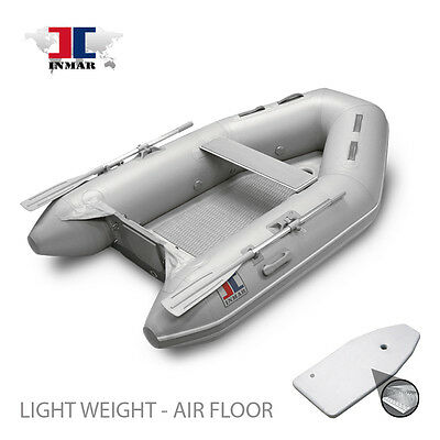 "8'0"" INMAR Inflatable Boat - Air Floor Tender -Yacht, Dingy, Sailing, Dive"