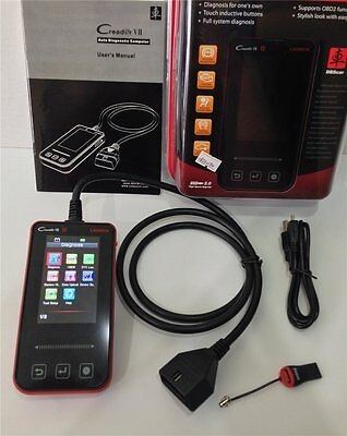 Launch Creader VII EOBD OBD2 Code Electronic Control System ABS SRS Service