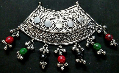 Tribal Ethnic Antique Afghan Kuchi Belly Dance Old Pendant Decoration Jewelry NW