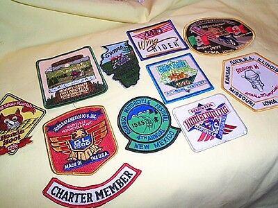 Ama Motorcycle Biker Patches Lot 10 3 By 4 In