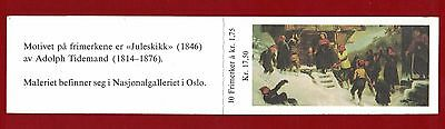1981 Norway Christmas booklet SG 908