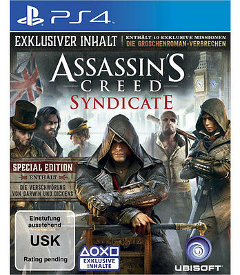 Sony PS4 Playstation 4 Spiel * Assassin´s Creed Syndicate Assassins *****NEU*NEW